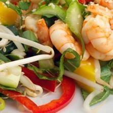 Asian Shrimp Salad - Bethenny Frankel's Recipes