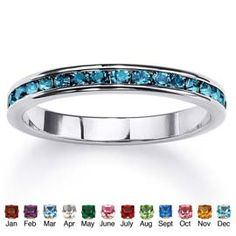 I want some of these in October and May colors to wear around my wedding band