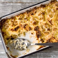 Instead of macaroni & cheese:   Cauliflower & Cheese