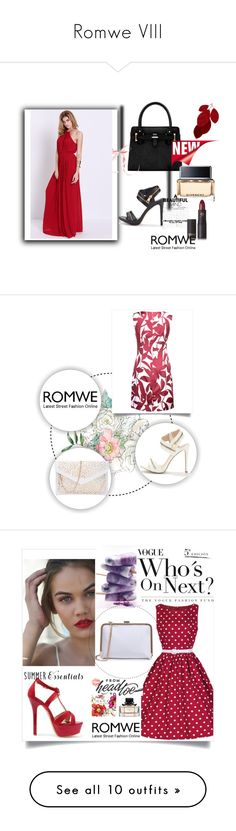 """""""Romwe VIII"""" by m-sisic ❤ liked on Polyvore featuring St. John, Kerr®, Urban Decay, Essie and Nivea"""
