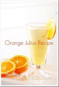 Orange Julius...maybe add a bit of vodka to it for an adult Julius