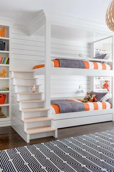 36 - Chango & Co. - Rumson New Modern - Bunk Room Stairs.jpg