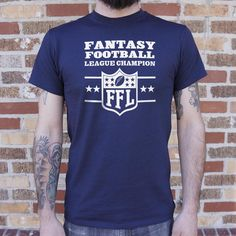 88cc903c2ad11 Fantasy Football League Champion  FFL  Men s T-Shirt