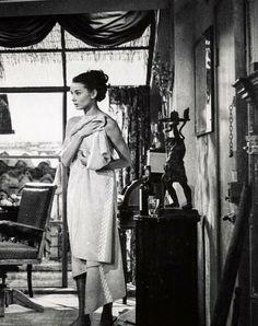 """Audrey Hepburn in """"Roman Holiday"""" (1953)."""