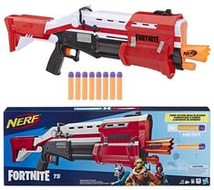 Nerf Fortnite Blaster Coming Kids Water Toys, Pistola Nerf, Nerf Gun Storage, Cool Nerf Guns, Jurassic Park Toys, Computer Gaming Room, Kids Army, Bakugan Battle Brawlers, Nerf Toys