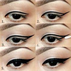 BEAUTYLICIEUSE: L'eye-liner pour les nulles (tutos + astuces)
