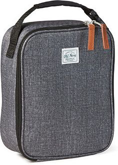 Old Navy Patterned Canvas Lunch Bag