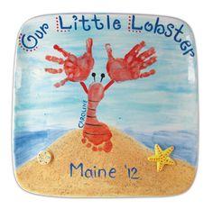 lobster foot & hands