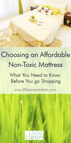 Need a new mattress and want something safe and natural without spending a fortune? Consider an affordable non-toxic mattress from one of these brands.