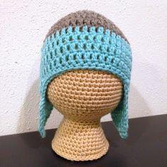 5 Little Monsters: Free Crochet Pattern- Crochet Mannequin Heads, #haken, gratis patroon (Engels), mannequin, hoofd, display voor mutsen, braderie, markt