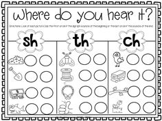 great activity for students to work on beginning and end sounds in words. you could change the pictures or the letter depending on what you were doing lessons on.