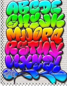 Graffiti letters are cool