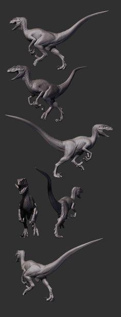ArtStation - Velociraptor, Caio Fantini