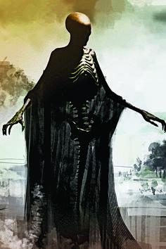 Dementors   The Original Harry Potter Creature Concept Art Is Utterly Breathtaking