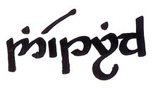 This teaches you elvish, including how to write your name. I need to learn this...