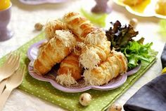 Juditka konyhája: ~ SONKÁS SAJTOS ROLÓ ~ Shrimp, Muffin, Meat, Cooking, Cake, Ethnic Recipes, Kitchen, Kuchen, Muffins