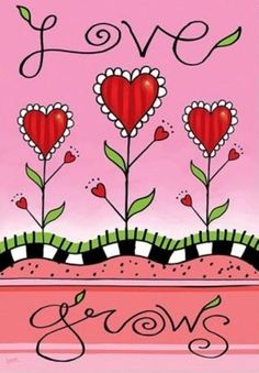 "Evergreen Love Grows Valentine's Day Regular Sized Flag 29"" X 43"" by Evergreen. $11.99. 29"" x 43"". Will fit most standard decorative flag poles and hangers. Heat sublimated design. All weather polyester. The Love Grows Banner features bright colored heart shaped flowers growing on a vibrant pink background! The word ""Love"" appears at the top of this decorative house flag and the word ""Grows"" appears at the bottom! So pretty, this decorative flag is perfect for Valentine's Day!"