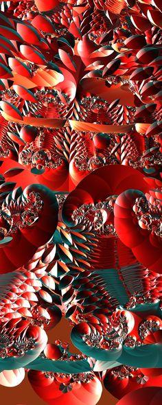 Red! by FractsSH.deviantart.com fractal art made with mandelbulb 3d