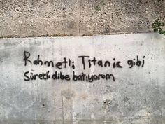 Ich schrieb an die Wand Graffiti - stille Notiz - Graffiti-Liebe # DuvaryazÄ . Simple Elegant Wedding Dress, Caption For Yourself, Street Graffiti, Thing 1, Locked Wallpaper, Cool Backgrounds, Gothic Art, Wall Quotes, Tag Art