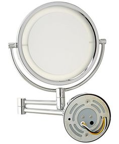 You'll love the Contemporary LED Lighted Direct Wire Wall Mount Makeup/Shaving Mirror at Wayfair - Great Deals on all Décor & Pillows products with Free Shipping on most stuff, even the big stuff.