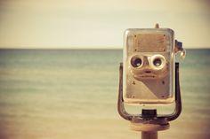 robot head.