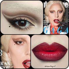 "☠ X†iNA PronouncedAsDepesh on Instagram: ""My recreation of the Lady Gaga promo…"