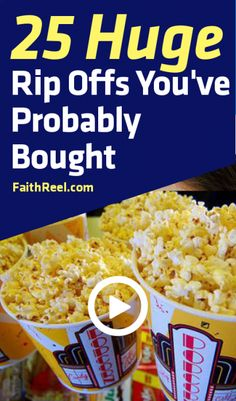 25 Huge Rip Offs, We Guarantee You've Bought!