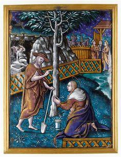 Atelier de Pierre Reymond, Noli me tangere, Limoges, XVIe siècle ...