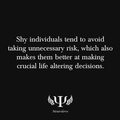hmm....  my own shyness is sort of volcanic.  i do truly go inward for long periods as most introverts do.  every so often, however, i explode with a burst of words, passion, exuberance, or freaking weirdness that i MUST express.  then... shshhh.  stillness again.