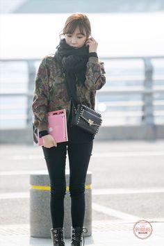Taeyeon Jessica, Kim Hyoyeon, Seohyun, Snsd Tiffany, Tiffany Hwang, Airport Style, Airport Fashion, Bubblegum Pop, Kwon Yuri