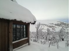 Mountain lodge in Geilo, Norway. Anette Wessel