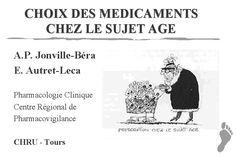 Médicaments, Personne âgée, Humour, Illustration, Dessin