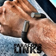 40 caliber on Dark Steel  Always the Best!  www.paracordlinks.com - - - - - #badassery #dope #ammo #ammunition #firearms #paracordbracelet #everydaycarry #new #Paracord #military #brass #tactical #survival #epic #badass #beastmode #menstyle #mensgear #womenswear #steel #bracelet #veteran #usn  #merica #coastguard #navy #usmc #army #airforce #marinecorps