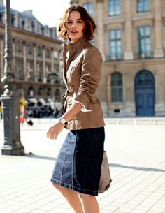 denim skirt | denim skirt | Pinterest | Denim skirt