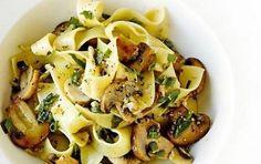 Ricette primi piatti: pappardelle ai funghi - Ecco per voi una ricetta deliziosa…