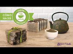 Cómo hacer jabón natural de té verde antioxidante