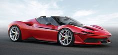 Ferrari's been in Japan for 50 years now, and they decided to give the country a little surprise gift: a Ferrari 488 Spider with an all-new body and an extra 20 horsepower, just because. They're only building 10 examples of the J50 (J for Japan, 50 for the 50 years—I get it!) but I suspect the new front-end design may be a clue to Ferrari's design future.