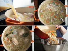 The Best Chicken Pot Pie, With Biscuits or Pastry | Serious Eats Best Chicken Pot Pie, Chicken Recipes, Biscuit Topping Recipe, Ceramic Baking Dish, Crusted Chicken, Buttermilk Biscuits, Serious Eats, Frozen Peas, Creamy Chicken