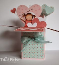 Diary of an Inky Girl….: Pop Up Box Card from Splitcoast Stampers