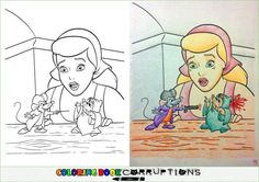 54 Innocent Coloring Books Corrupted By Adults With Crayons