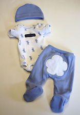 "OOAK Baby Doll Mini Reborn Micro Preemie Bodysuit Pant Easter Bunny 14"""