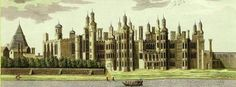 "Richmond Palace:  Henry VIII lived at Richmond until Cardinal Wolsey decided to ""share"" Hampton Court with the king in 1525. Eventually Henry moved out of Richmond in favor of Hampton, and left the palace to his discarded wife Katherine of Aragon for a while."