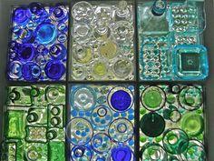 Bottle window Window Glass, Window Art, Mosaic Windows, Bottle Cutting, Faux Stained Glass, Recycled Glass, Interesting Stuff, Altered Art, Mosaics