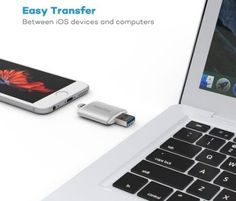Transfer Files (photo and music) from your iPhone to your PC. Additional space for your phone!