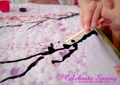 meijo's joy: Easy blow paint art for Chinese New Year decor...