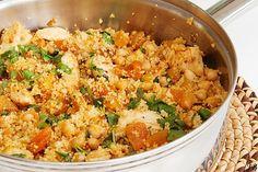Couscous met kip en abrikozen - http://www.volrecepten.nl/r/couscous-met-kip-en-abrikozen-1028126.html