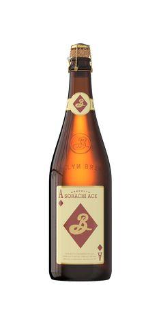 Brooklyn Sorachi Ace -- one of my favorites.  http://brooklynbrewery.com/brooklyn-beers/big-bottles/sorachi-ace