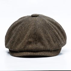 eb5056c0242 Men Middle-aged Cotton Newsboy Hunting Hat Beret Caps - Banggood Mobile  Short Brim Hat