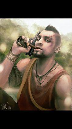 Vaas and his cigar