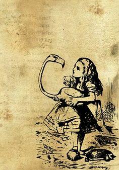 Flying Unicorn: Alice in Wonderland